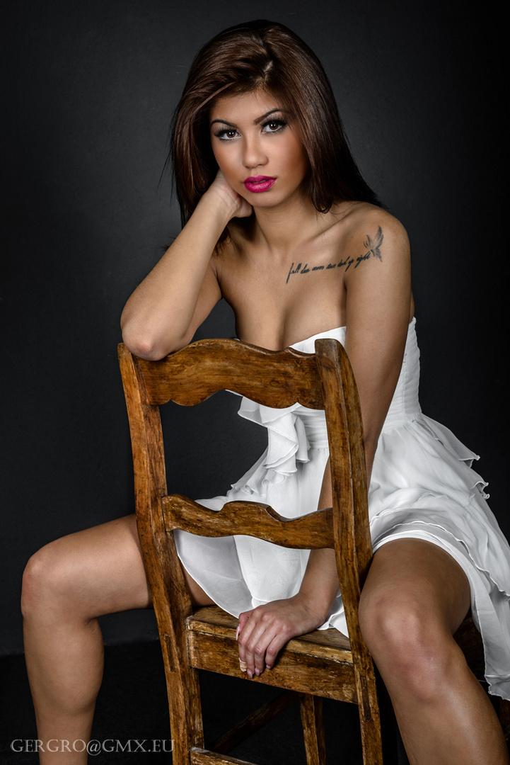 Lisa und der Stuhl ....