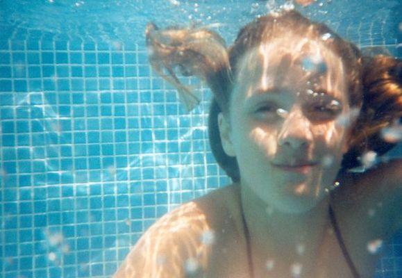 Lisa unterwasser