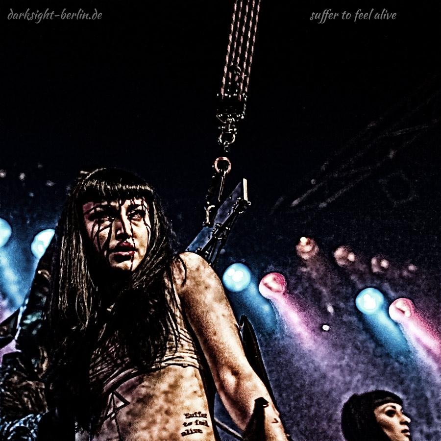 Lisa Vandalism - Agonoize live im K17 Berlin 2012