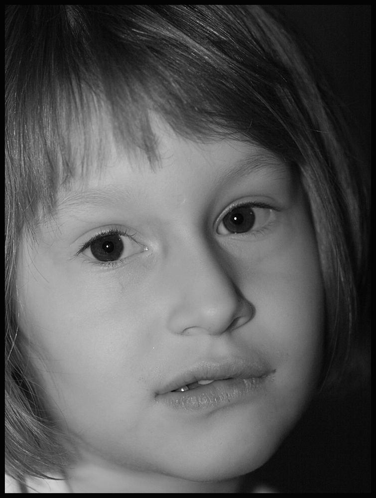 Lisa2 in Schwarz/Weiß