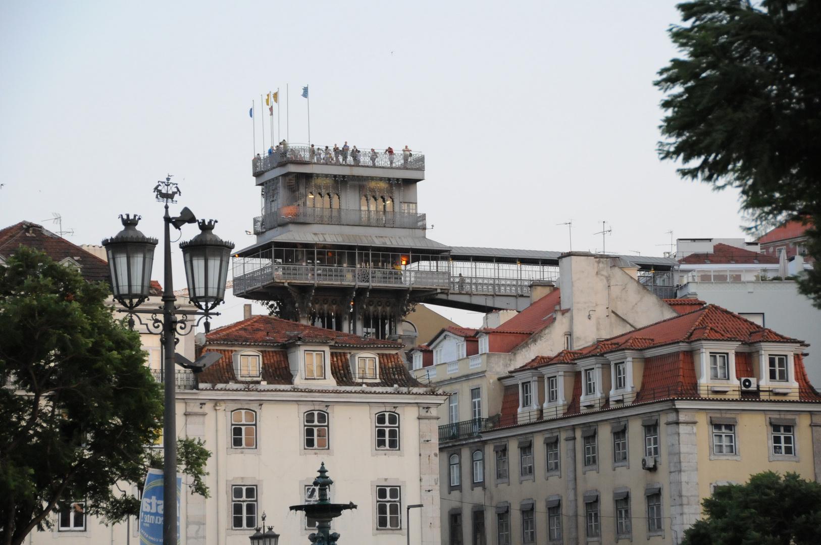 Lisboa - Cabeza de la torre