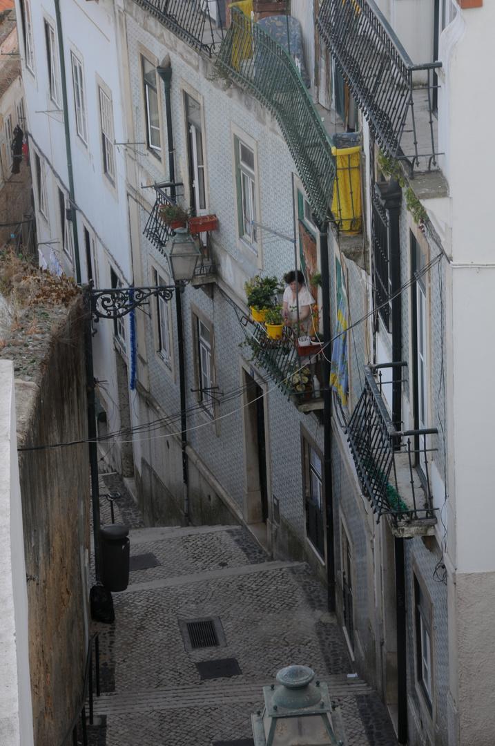 Lisboa - Calle de la Alfama