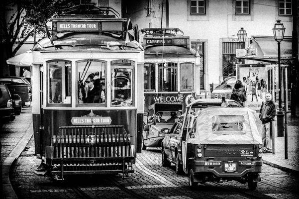 Lisboa en blanco y negro