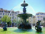 Lisboa: jogos aquáticos