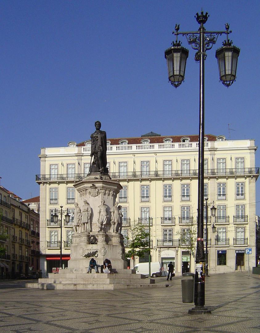 Lisboa: Largo Luís Vaz de Camões