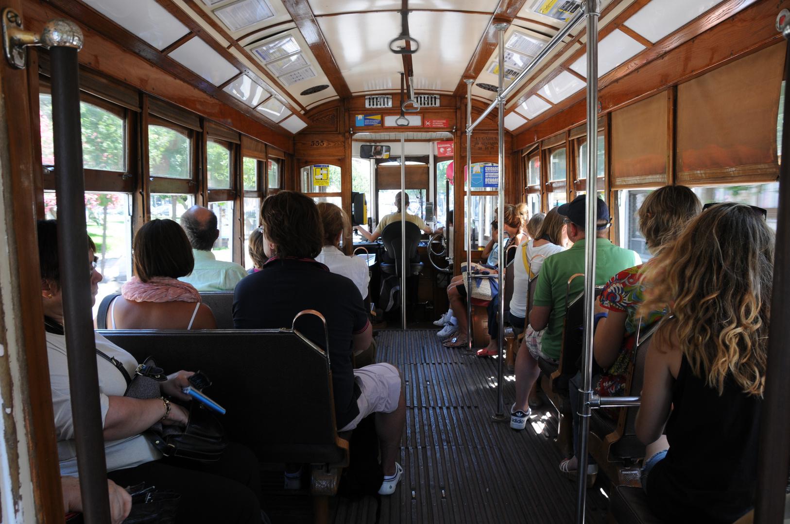 Lisboa - Viajando en el electrico
