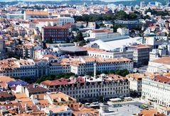 Lisbona dall'alto...