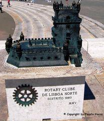 Lisbona e la Torre di Belen in miniatura