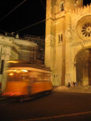 Lisbonne, la nuit...
