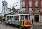 Lissabon Alte Straßenbahn