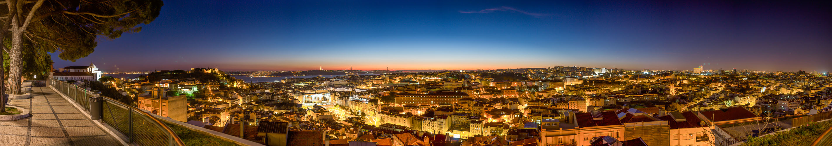 Lissabon am Ende des Tages