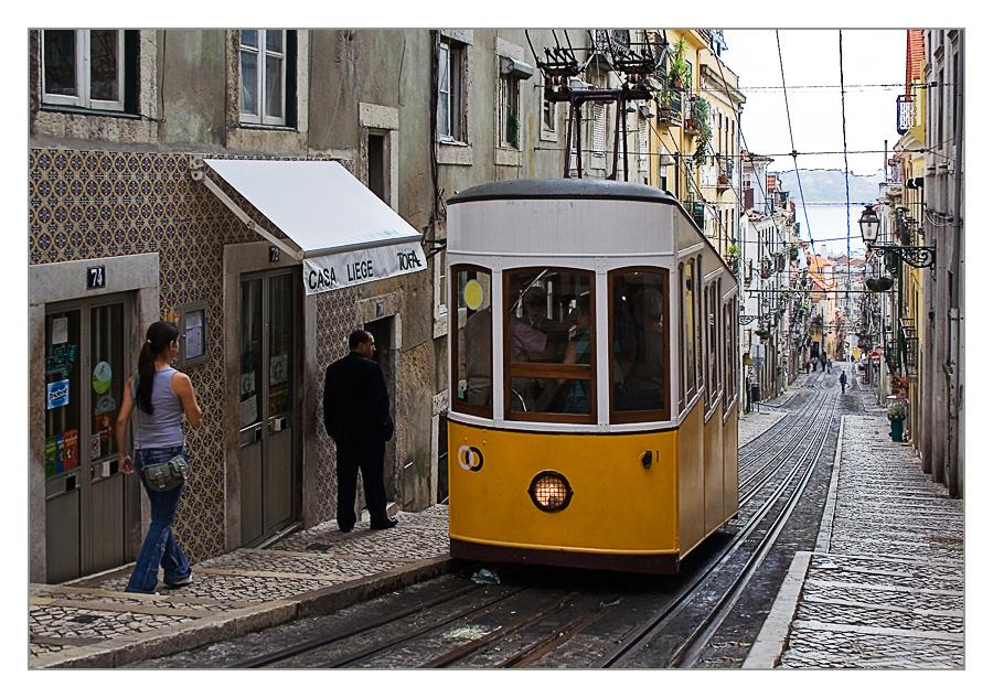 Lissabon - ascensor