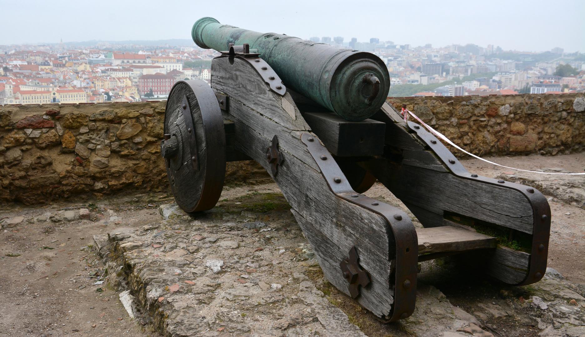 Lissabon auf der Burg Säo Jorge -1