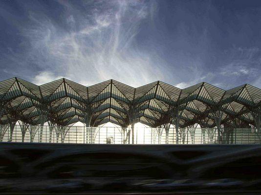 Lissabon: Bahnhof am Expo-Gelände