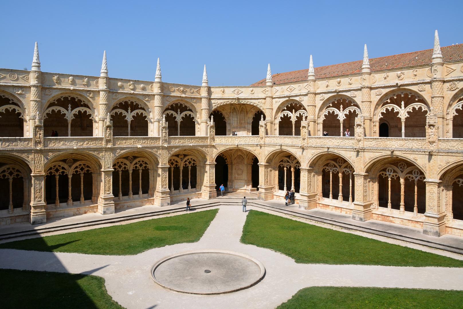 Lissabon Hieronimuskloster Kreuzgang