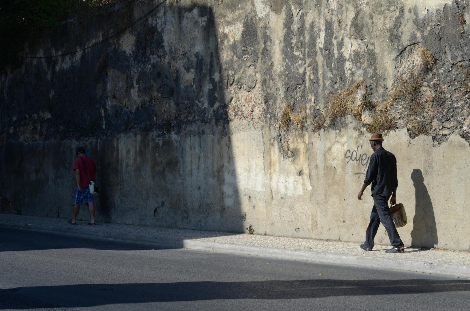 Lissabon - Licht und Schatten, hier wie dort