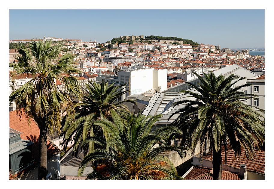 Lissabon mit Castelo de São Jorge