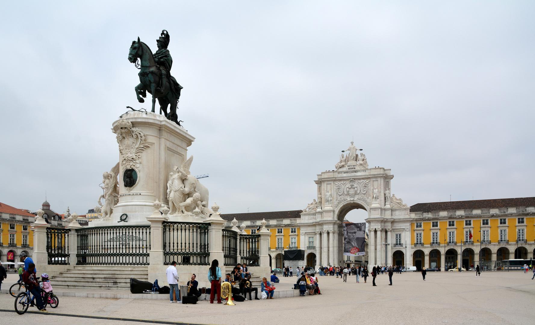 Lissabon Rossio-Platz