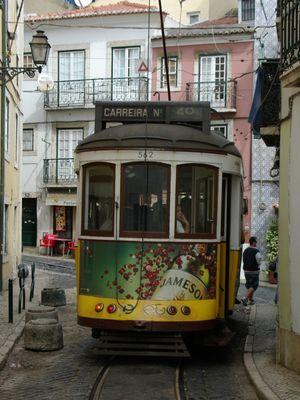 Lissabon - Straßenbahn Stadtrundfahrt