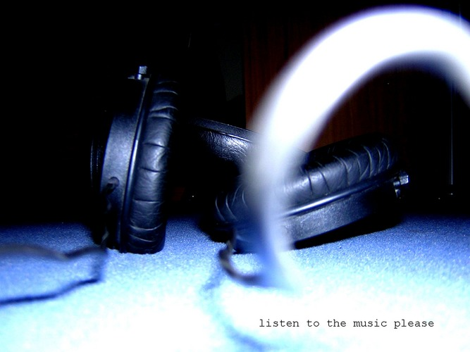.listen to the music please.