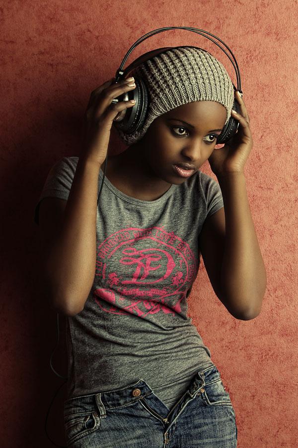 ... listening to music ...