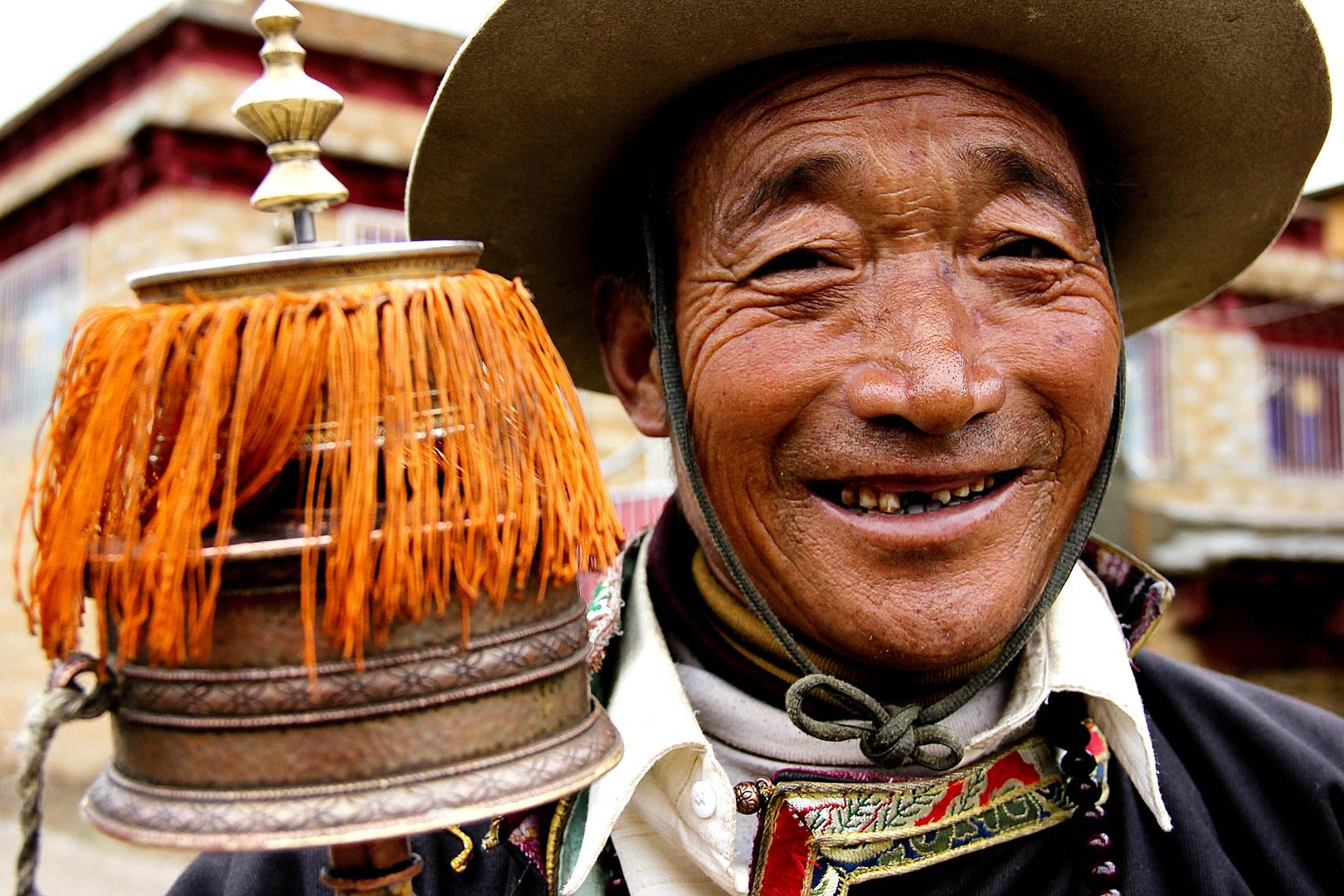 Litang. Tibet