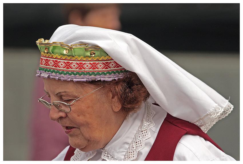Litauische Tracht