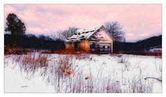 Little Barn in the Morning Light