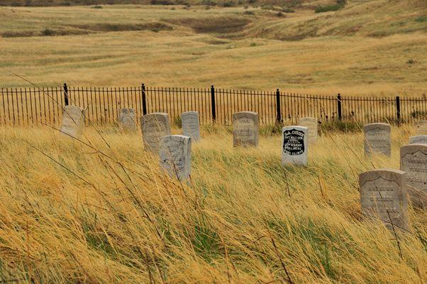 Little Big Horn -Tombe du Général Custer