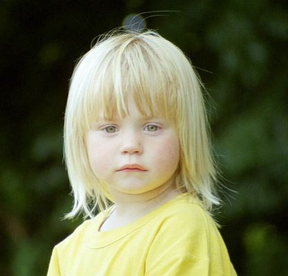 little blond angel