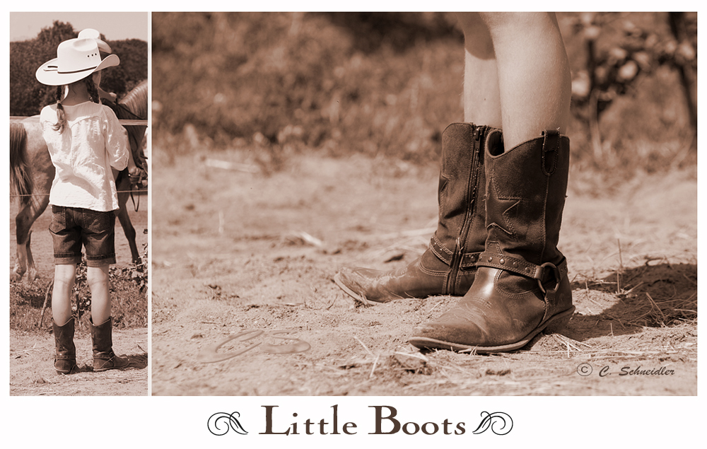 Little Boots are made ....