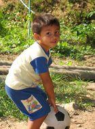 little boy in Thailand