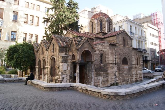 little church Athen 2009