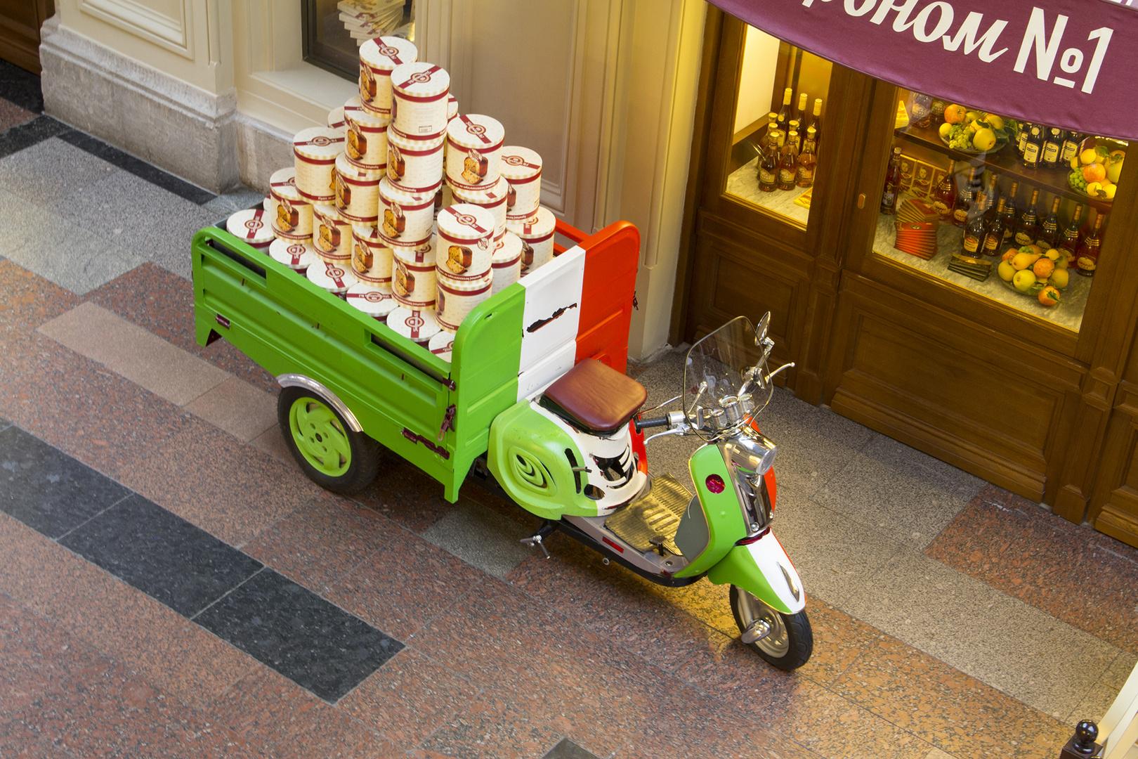 Little Italy in Moskau - GUM