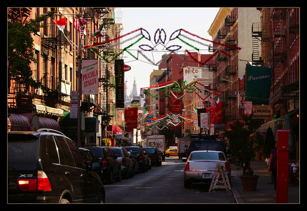 Little Italy, NYC 2008