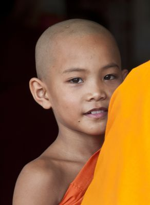 Little monk in Keng Tung