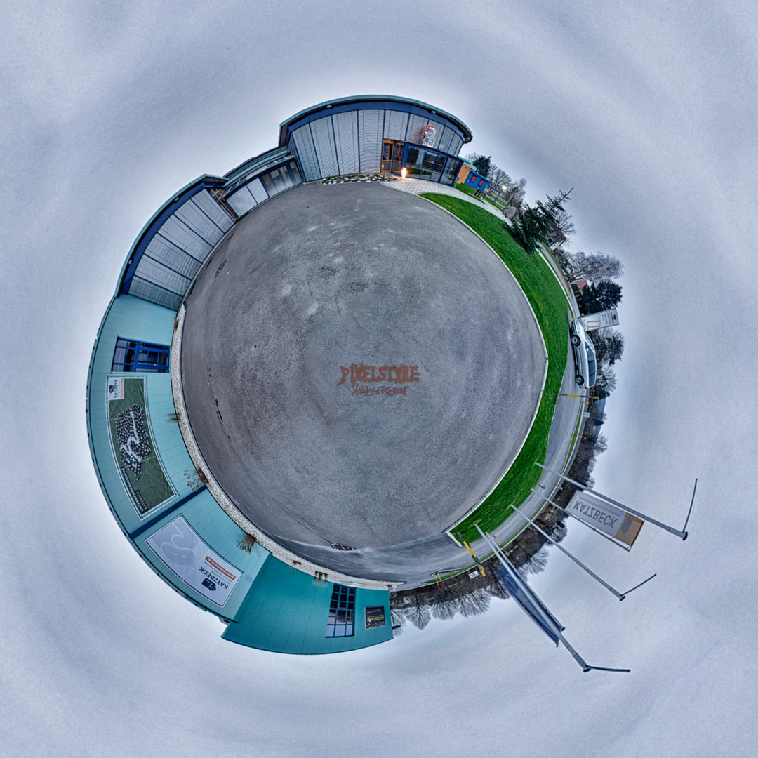 Little Planet der Firma wo ich Arbeite
