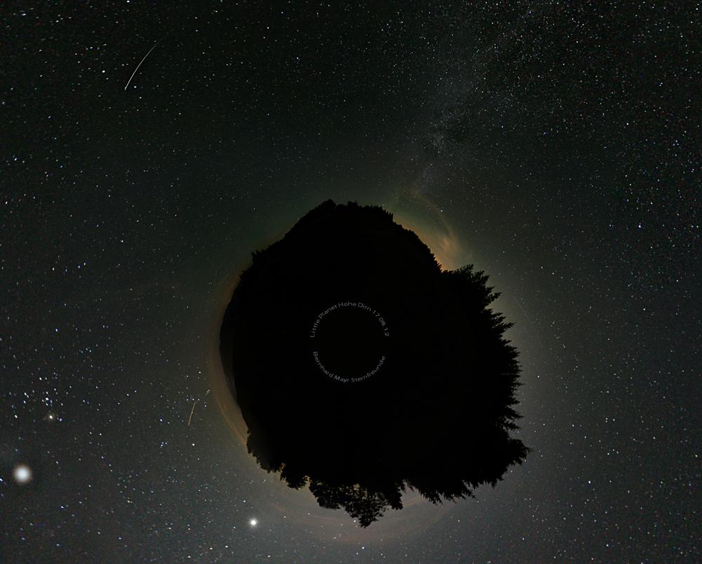 Little Planet Nationalpark Kalkalpen Hohe Dirn O.Ö.