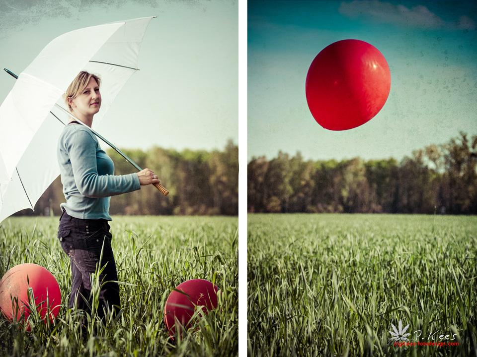 [Little Red Ballons]