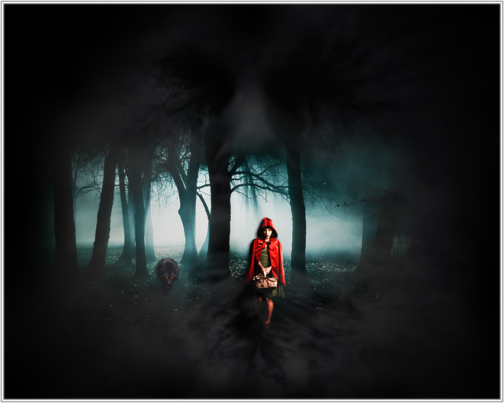 """""""Little Red Riding Hood""""...mal anders..."""