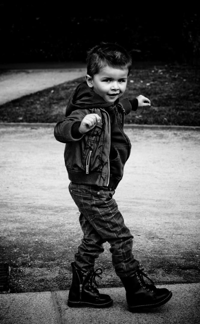 little rock boy