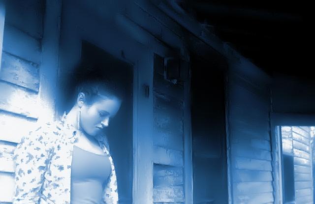 Little Selena In Blue