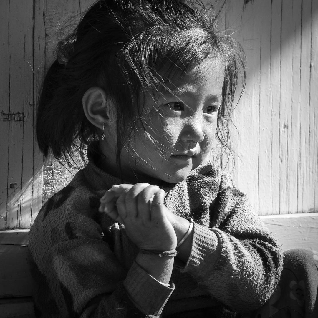 Little Sherpa Girl