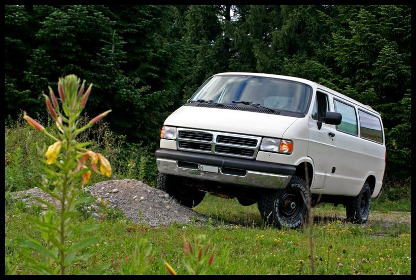 little white van