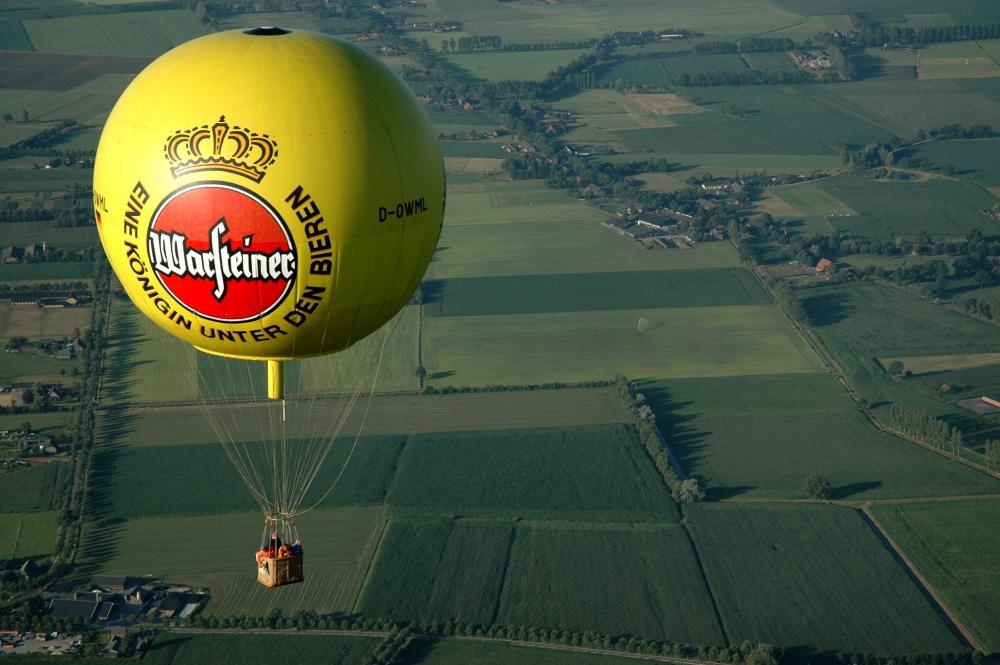 LIVE - Gasballonfahrt - Verfolgung