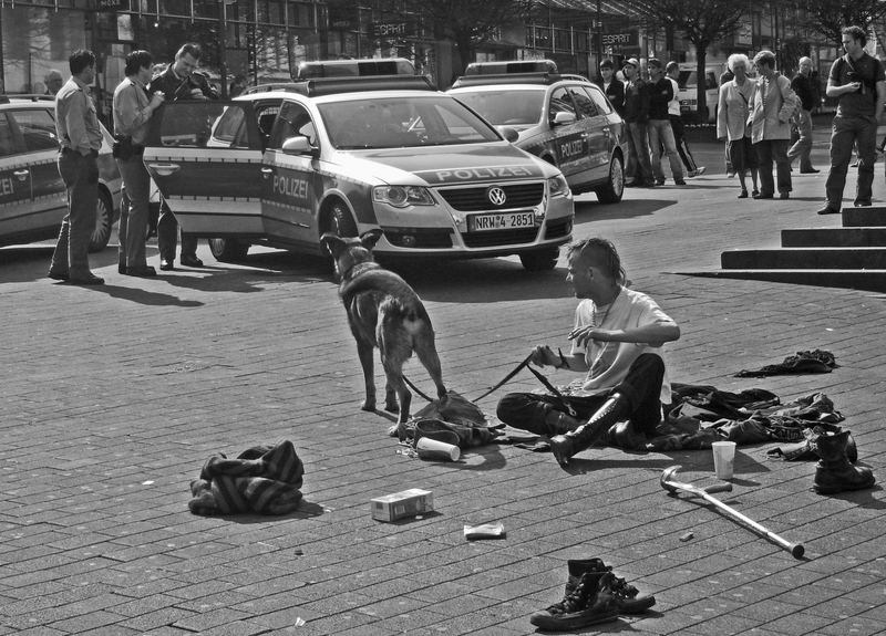 live on the street
