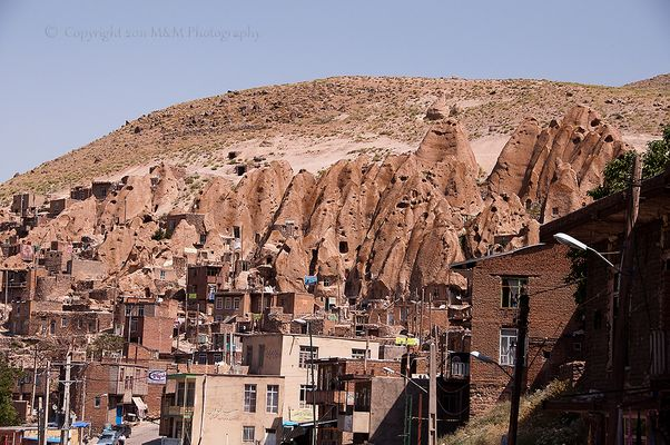 Living in the cave(Kandovan stone village)