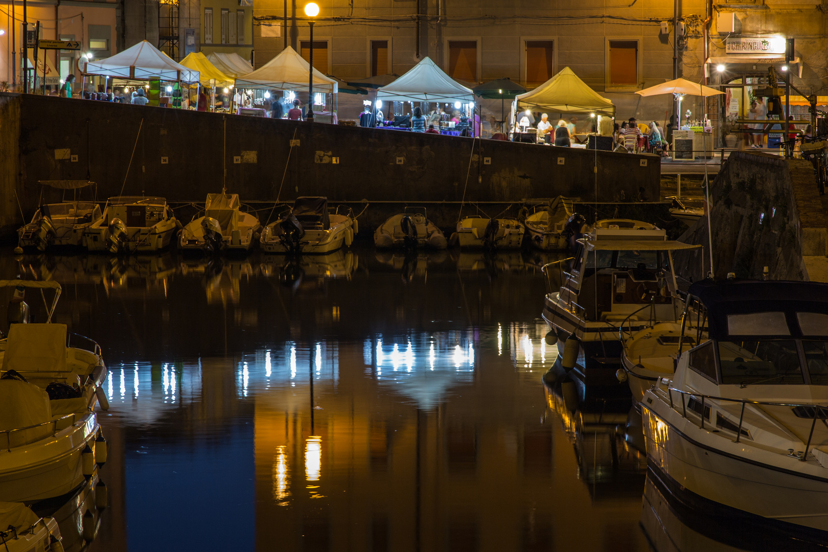 Livorno bei Nacht Nr. 1