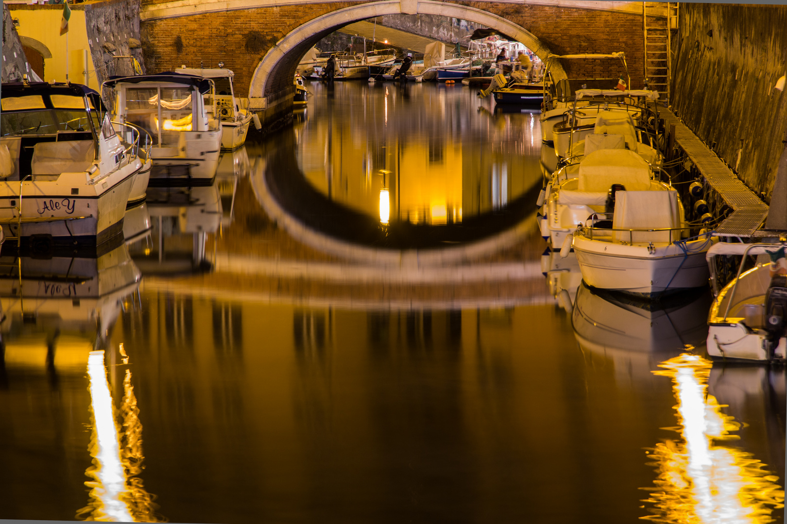 Livorno bei Nacht Nr. 2