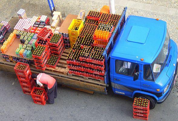 livraison matinale à Araxà